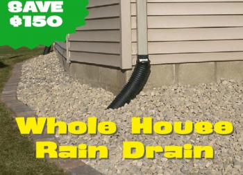 Whole House Rain Drain