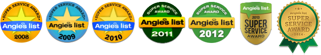 Angie's List Service Awards